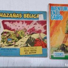 Tebeos: OFERTA - LOTE 2 Nº DE TORAY - HAZAÑAS BELICAS Nº 280 Y HAZAÑAS BELICAS BOIXCAR 90 AVENTURA EN CAIRO. Lote 183763991