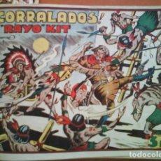 Tebeos: 1949 RAYO KIT - IRANZO // EDICIÓN ORIGINAL TORAY 1949 // COMPLETA // ENCUADERNADA // OESTE. Lote 183823767