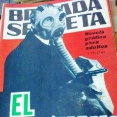 Tebeos: BRIGADA SECRETA EL PIROMANO EDIT TORAY AÑO 1965. Lote 183887933