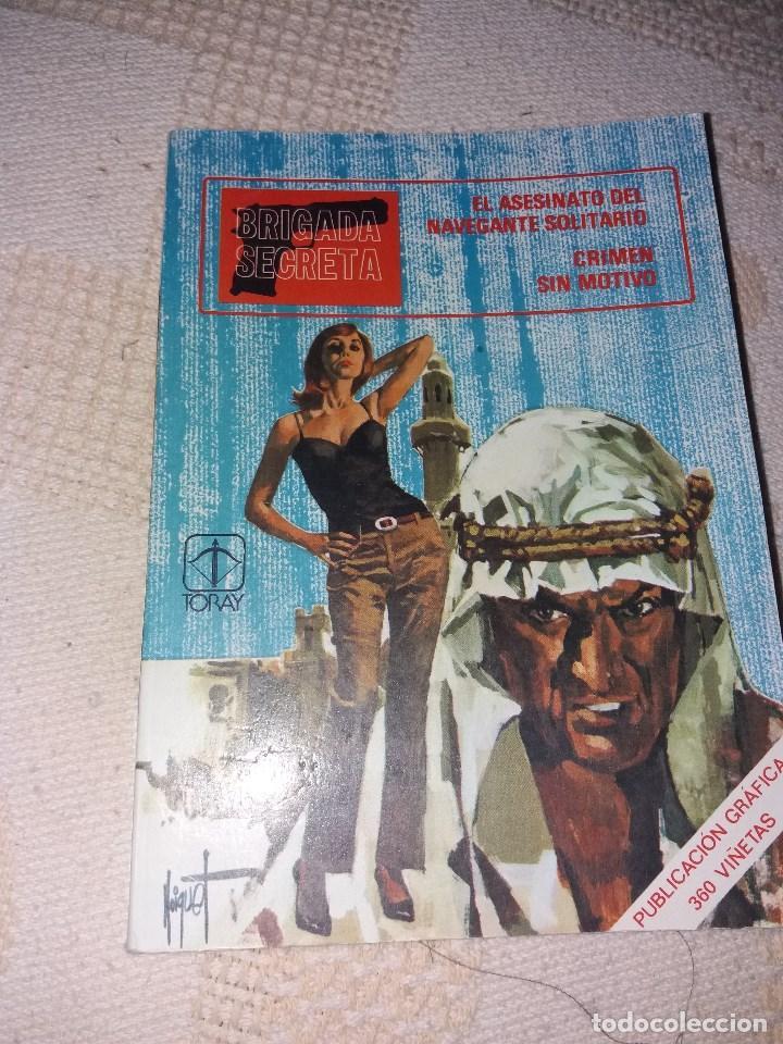 BRIGADA SECRETA NUMERO 5.EDICIONES TORAY 1982 (Tebeos y Comics - Toray - Brigada Secreta)