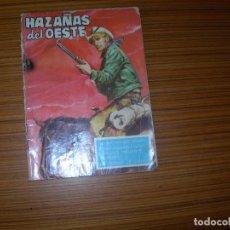 Tebeos: HAZAÑAS DEL OESTE Nº 21 EDITA TORAY . Lote 184040800