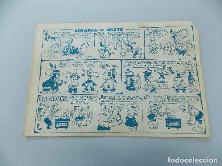 Tebeos: COMIC DICK RELAMPAGO Nº 65, LA EMBOSCADA - EDITORIAL TORAY, 1959 - ORIGINAL ... L489 - Foto 5 - 184097362