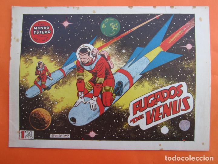 EL MUNDO FUTURO , NUMERO 34 (TORAY, 1955) DE BOIXCAR , TORAY (Tebeos y Comics - Toray - Mundo Futuro)