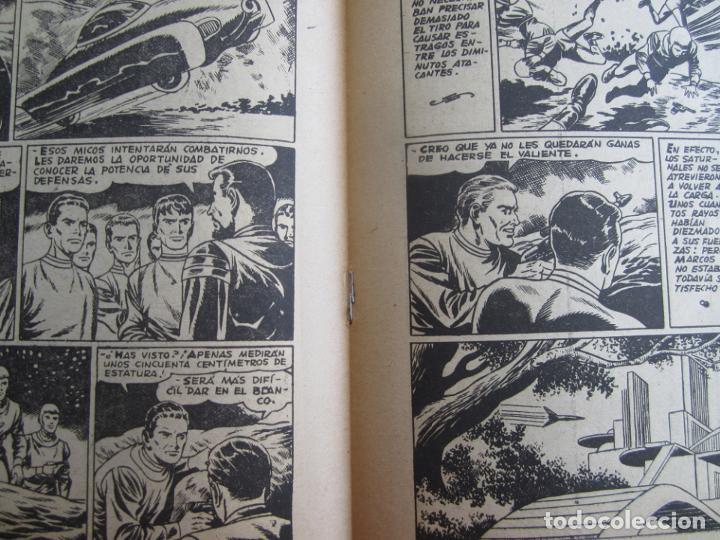 Tebeos: EL MUNDO FUTURO N 21 , NO HAY ENEMIGO PEQUEÑO . DE BOIXCAR (TORAY, 1955) - Foto 3 - 184119607