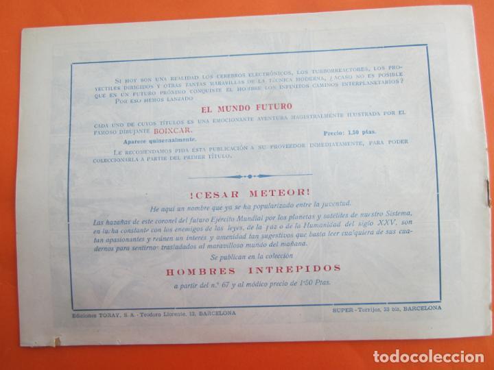 Tebeos: EL MUNDO FUTURO N 21 , NO HAY ENEMIGO PEQUEÑO . DE BOIXCAR (TORAY, 1955) - Foto 4 - 184119607