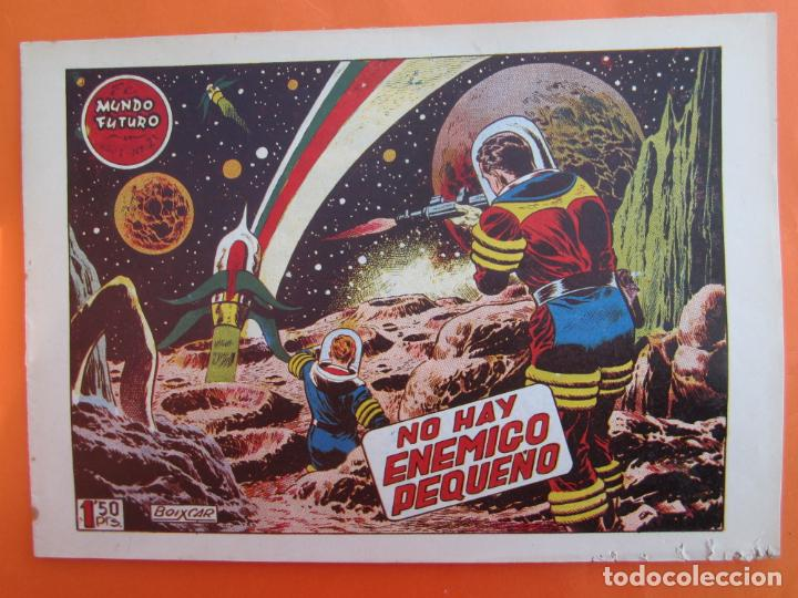 EL MUNDO FUTURO N 21 , NO HAY ENEMIGO PEQUEÑO . DE BOIXCAR (TORAY, 1955) (Tebeos y Comics - Toray - Mundo Futuro)