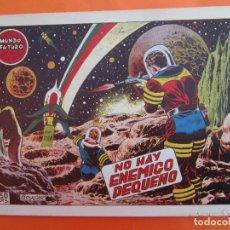 Tebeos: EL MUNDO FUTURO N 21 , NO HAY ENEMIGO PEQUEÑO . DE BOIXCAR (TORAY, 1955). Lote 184119607