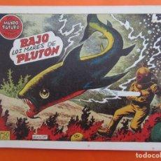 Tebeos: EL MUNDO FUTURO N 15 , BAJO LOS MARES DE PLUTON . DE BOIXCAR (TORAY, 1955). Lote 184120198