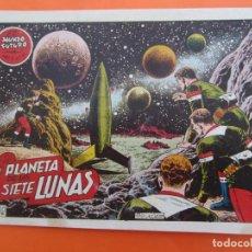 Tebeos: EL MUNDO FUTURO N 12 . EL PLANETA DE LAS SIETE LUNAS . DE BOIXCAR (TORAY, 1955). Lote 184120847