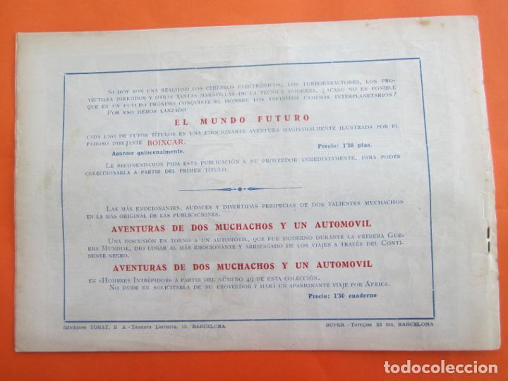 Tebeos: EL MUNDO FUTURO N 4 . DE BOIXCAR (TORAY, 1955) - Foto 3 - 184121142