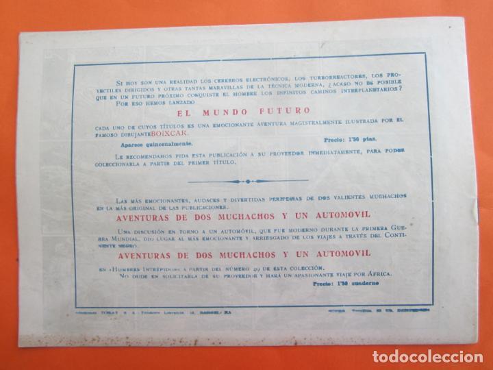 Tebeos: EL MUNDO FUTURO N 19 FIEBRE ESTELAR , DE BOIXCAR (TORAY, 1955) - Foto 3 - 184121392