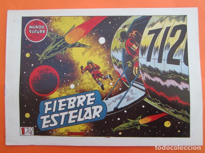 EL MUNDO FUTURO N 19 FIEBRE ESTELAR , DE BOIXCAR (TORAY, 1955) (Tebeos y Comics - Toray - Mundo Futuro)