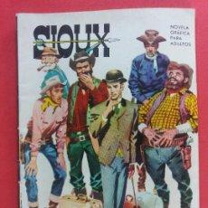 Livros de Banda Desenhada: SIOUX Nº 10 CON FOTO SILVANA MANGANO 1964 TORAY EXCELENTE ESTADO. Lote 184192547