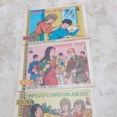 Tebeos: 3 NUMEROS DE AZUCENA AÑO 1968. Lote 184233191
