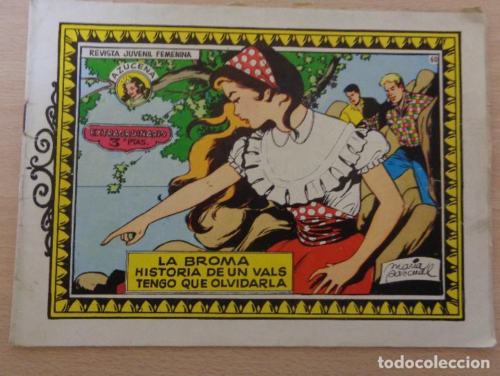 AZUCENA EXTRAORDINARIO NÚM. 60 DE TORAY (Tebeos y Comics - Toray - Azucena)