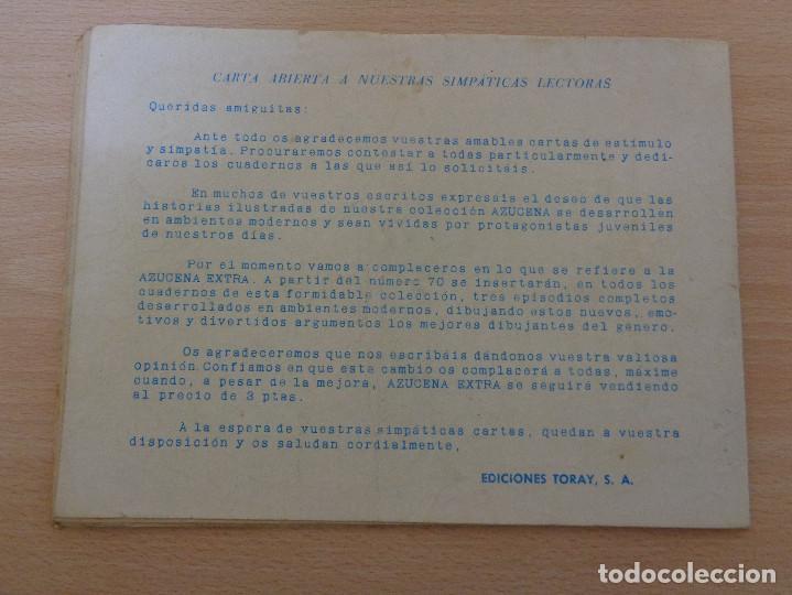 Tebeos: Azucena Extraordinario núm. 74 de Toray - Foto 2 - 184517521