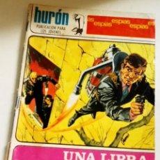 Tebeos: HURÓN PUBLICACIÓN PARA LOS JÓVENES - UNA LIBRA Y SEIS CHELINES Nº32 - 1968. Lote 184563960
