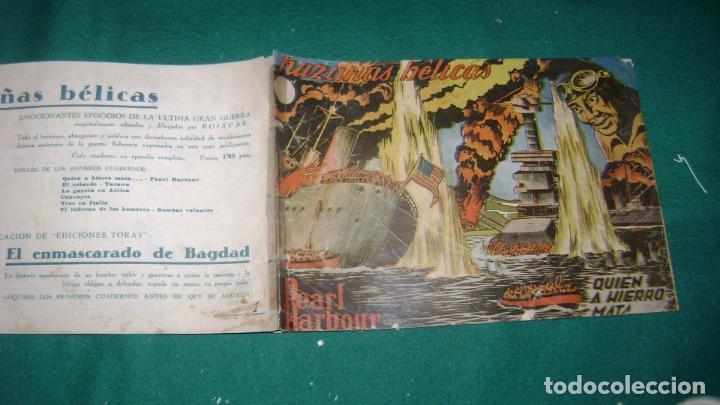Tebeos: HAZAÑAS BELICAS PRIMERA SERIE COMPLETA VER FOTOS CJ 10 - Foto 3 - 184587497