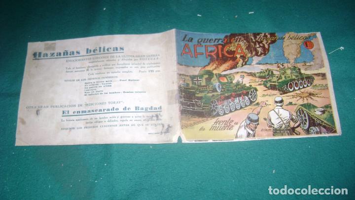 Tebeos: HAZAÑAS BELICAS PRIMERA SERIE COMPLETA VER FOTOS CJ 10 - Foto 5 - 184587497