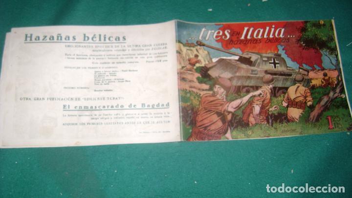 Tebeos: HAZAÑAS BELICAS PRIMERA SERIE COMPLETA VER FOTOS CJ 10 - Foto 9 - 184587497