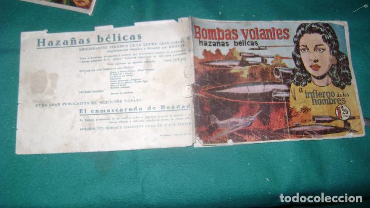 Tebeos: HAZAÑAS BELICAS PRIMERA SERIE COMPLETA VER FOTOS CJ 10 - Foto 10 - 184587497