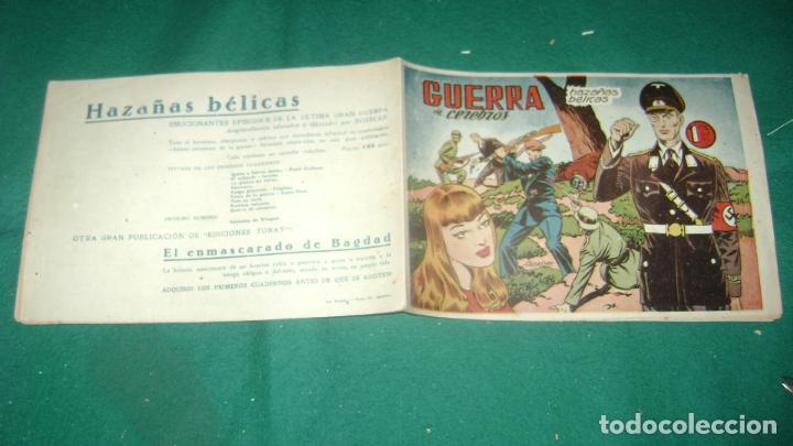 Tebeos: HAZAÑAS BELICAS PRIMERA SERIE COMPLETA VER FOTOS CJ 10 - Foto 11 - 184587497