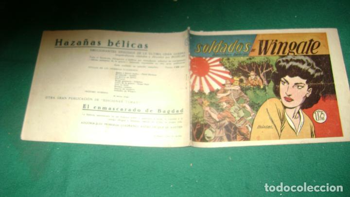 Tebeos: HAZAÑAS BELICAS PRIMERA SERIE COMPLETA VER FOTOS CJ 10 - Foto 12 - 184587497