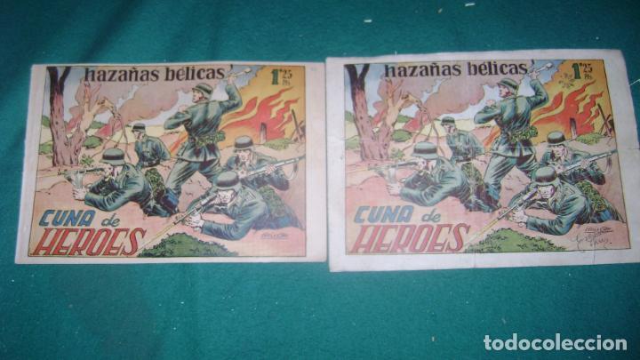 Tebeos: HAZAÑAS BELICAS PRIMERA SERIE COMPLETA VER FOTOS CJ 10 - Foto 14 - 184587497