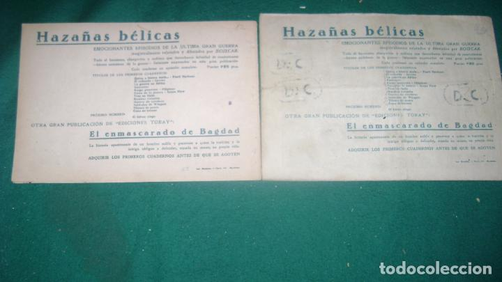 Tebeos: HAZAÑAS BELICAS PRIMERA SERIE COMPLETA VER FOTOS CJ 10 - Foto 15 - 184587497