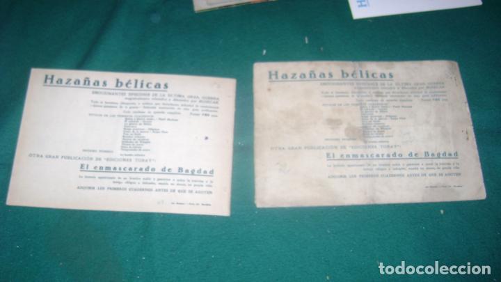 Tebeos: HAZAÑAS BELICAS PRIMERA SERIE COMPLETA VER FOTOS CJ 10 - Foto 17 - 184587497