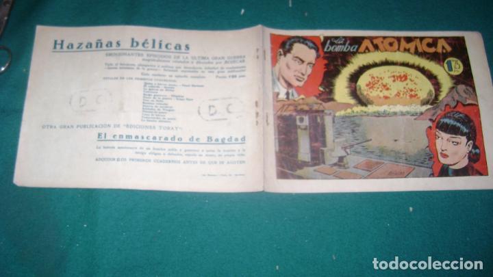 Tebeos: HAZAÑAS BELICAS PRIMERA SERIE COMPLETA VER FOTOS CJ 10 - Foto 18 - 184587497