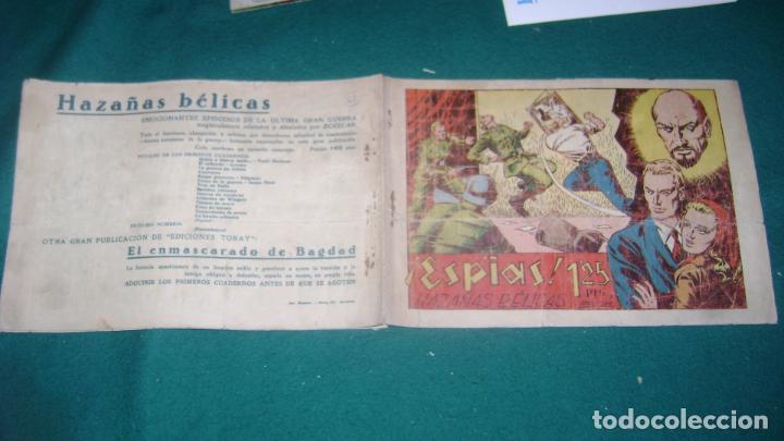 Tebeos: HAZAÑAS BELICAS PRIMERA SERIE COMPLETA VER FOTOS CJ 10 - Foto 19 - 184587497