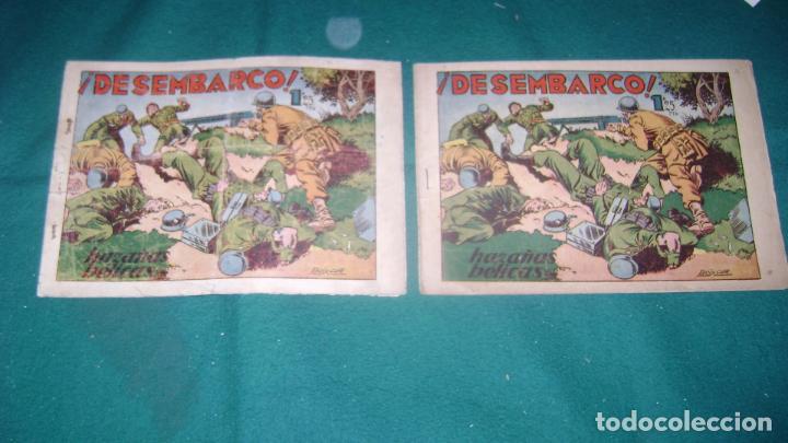 Tebeos: HAZAÑAS BELICAS PRIMERA SERIE COMPLETA VER FOTOS CJ 10 - Foto 20 - 184587497