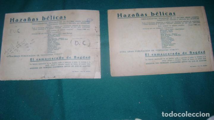 Tebeos: HAZAÑAS BELICAS PRIMERA SERIE COMPLETA VER FOTOS CJ 10 - Foto 21 - 184587497