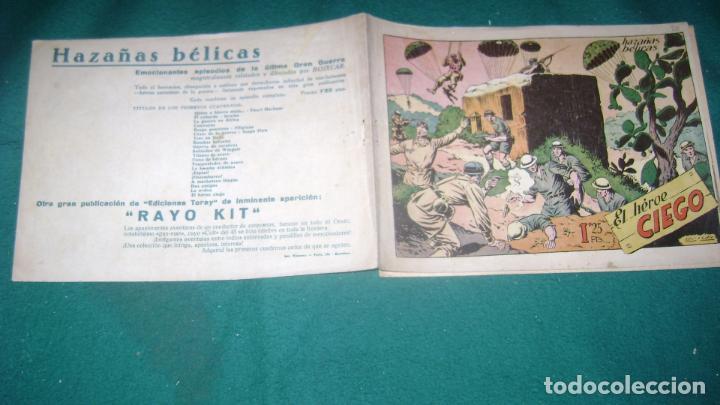 Tebeos: HAZAÑAS BELICAS PRIMERA SERIE COMPLETA VER FOTOS CJ 10 - Foto 25 - 184587497