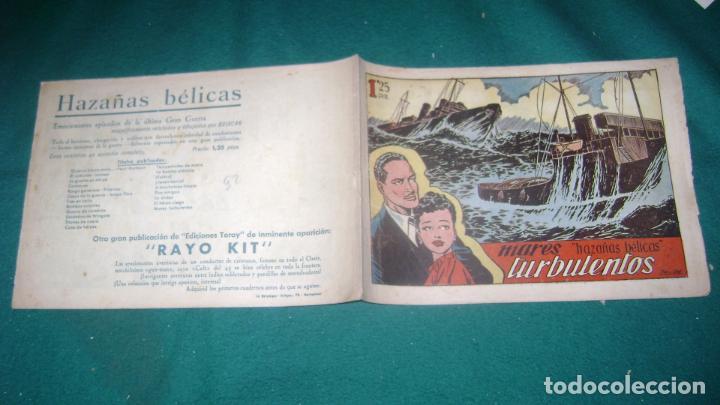 Tebeos: HAZAÑAS BELICAS PRIMERA SERIE COMPLETA VER FOTOS CJ 10 - Foto 26 - 184587497
