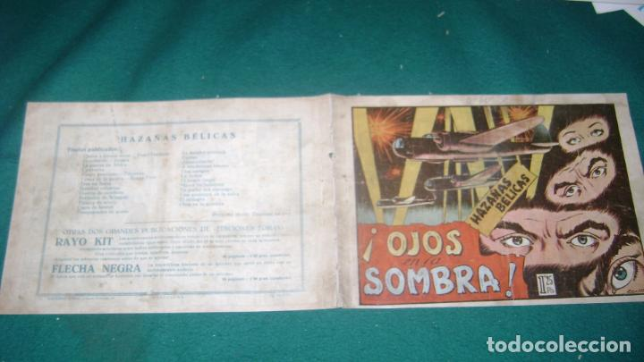 Tebeos: HAZAÑAS BELICAS PRIMERA SERIE COMPLETA VER FOTOS CJ 10 - Foto 30 - 184587497