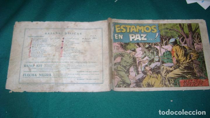 Tebeos: HAZAÑAS BELICAS PRIMERA SERIE COMPLETA VER FOTOS CJ 10 - Foto 31 - 184587497