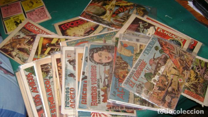 HAZAÑAS BELICAS PRIMERA SERIE COMPLETA VER FOTOS CJ 10 (Tebeos y Comics - Toray - Hazañas Bélicas)