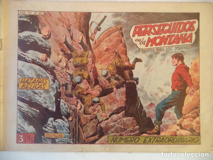 HAZAÑAS BELICAS Nº 165 NUMERO EXTRAORDINARIO ORIGINAL (Tebeos y Comics - Toray - Hazañas Bélicas)