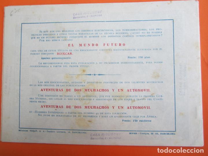 Tebeos: mundo futuro numero 16 , el planetoide errante , boixcar , 1955 - Foto 3 - 184725960