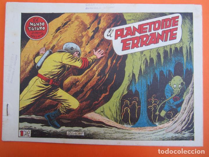 MUNDO FUTURO NUMERO 16 , EL PLANETOIDE ERRANTE , BOIXCAR , 1955 (Tebeos y Comics - Toray - Mundo Futuro)