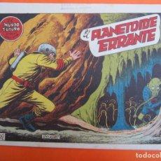 Tebeos: MUNDO FUTURO NUMERO 16 , EL PLANETOIDE ERRANTE , BOIXCAR , 1955. Lote 184725960