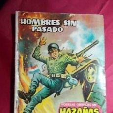 Giornalini: HAZAÑAS BÉLICAS. Nº 15. HOMBRE SIN PASADO. TORAY. 1962. Lote 184741990