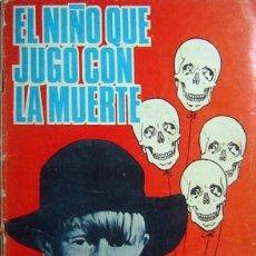 Tebeos: ESPIONAJE - Nº 36 -EL NIÑO QUE JUGÓ CON LA MUERTE- GRAN JAIME ROMEU-1966-CORRECTO- MUY DIFÍCIL-2356. Lote 184880126
