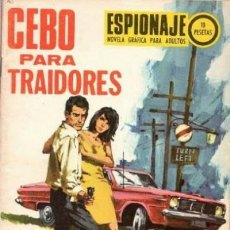 Tebeos: ESPIONAJE - Nº 69 -CEBO PARA TRAIDORES- GRAN VICENTE FARRÉS-1967-CORRECTOO-MUY DIFÍCIL-LEAN-2470. Lote 185903018