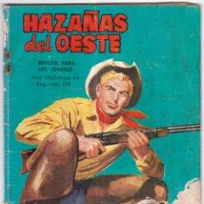 Tebeos: HAZAÑAS DEL OESTE Nº 84 - PUDO SER UN DELINCUENTE - 1965 - EDWINA CARROLL. Lote 185987800