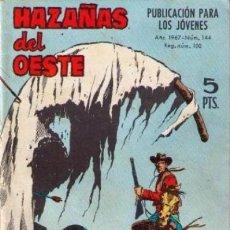 Tebeos: HAZAÑAS DEL OESTE- Nº 144 -GRAN FULGENCIO CABRERIZO-1967-RARO Y ESCASO-MUY BUENO-LEAN-2476. Lote 185998017