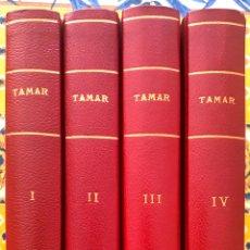 Tebeos: TAMAR COMPLETA Y ORIGINAL. ENCUADERNADA 4 TOMOS (TORAY). Lote 186083182