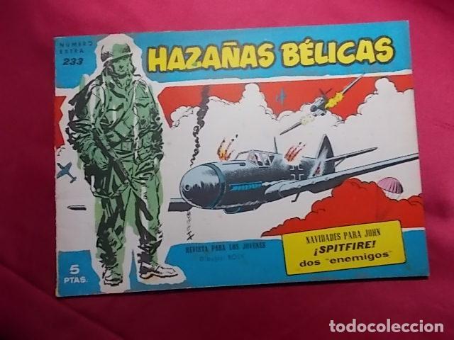 HAZAÑAS BELICAS. Nº 233 SERIE AZUL. EDICIONES TORAY (Tebeos y Comics - Toray - Hazañas Bélicas)